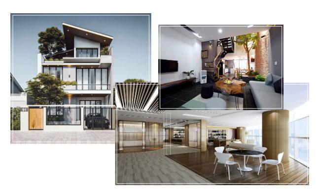 Thiết kế nhà đẹp tại thành phố vinh nghệ an